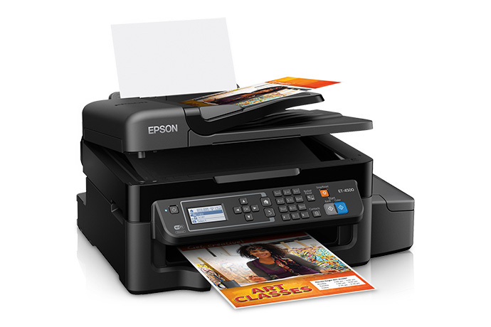 Epson WorkForce ET-4500 EcoTank All-in-One Printer - Refurbished