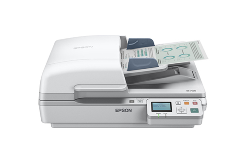 Scanner Colorido de Documentos WorkForce DS-7500