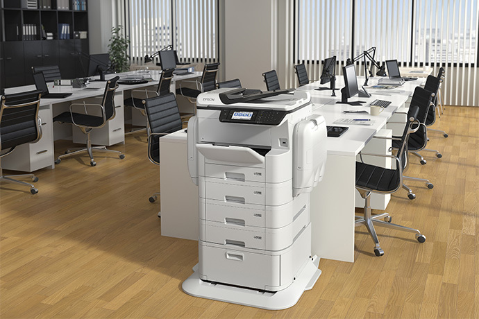 Impressora Multifuncional Colorida Epson WorkForce Pro WF-C869R