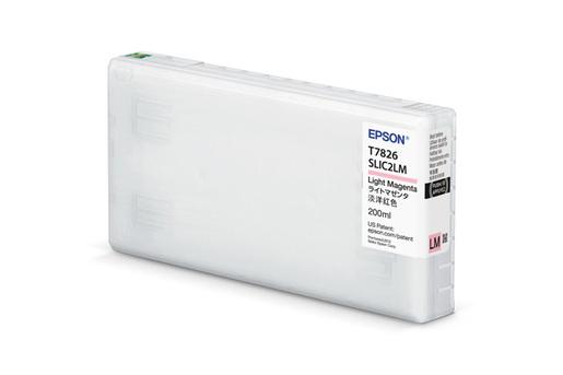 Epson T43S, 200ml Light Magenta Ink Cartridge