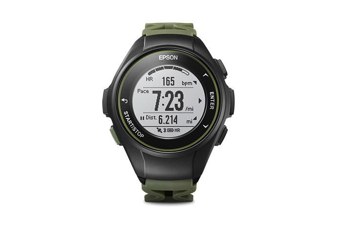 ProSense 57 GPS Running Watch - Kale Green