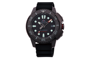 ORIENT: Mechanical Sports Watch, Silicon Strap - 45.0mm  (RA-AC0L03B)