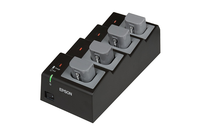 Quad Battery Cradle/Charger