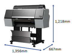 Epson SureColor SC-P7000 Photo Graphic/Proofing Inkjet Printer