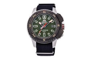 ORIENT: Mechanical Sports Watch, Nylon Strap - 45.0mm  (RA-AC0N03E)