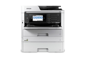 WorkForce Pro WF-M5799 Workgroup Monochrome Multifunction Printer with Replaceable Ink Pack System