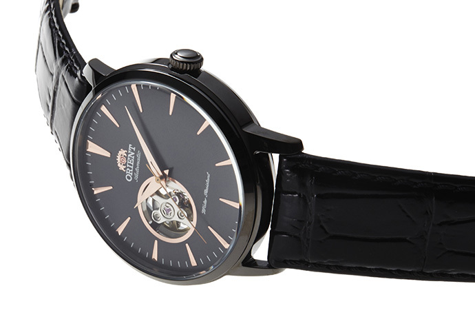 ORIENT: Mechanical Contemporary Watch, Leather Strap - 41.0mm (AG02001B)
