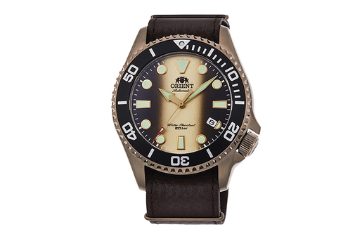 Mechanical Sports Watch, Leather Strap - 43.4mm (RA-AC0K05G) Limited