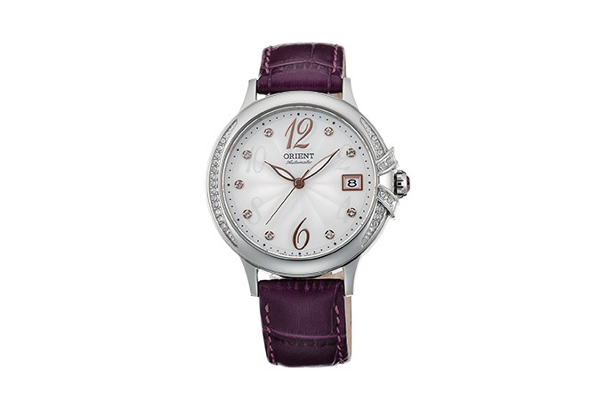 ORIENT: Mechanical Contemporary Watch, Leather Strap - 37.5mm (AC07003W)