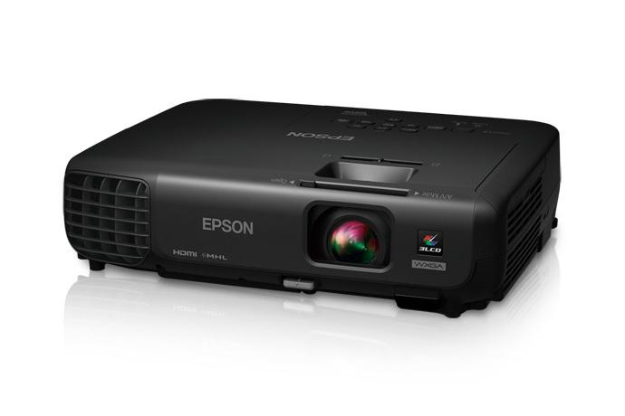 PowerLite 1263W Wireless HD WXGA 3LCD Projector