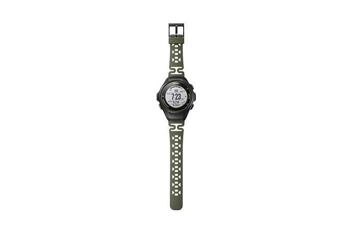ProSense 57 GPS Running Watch - Kale Green