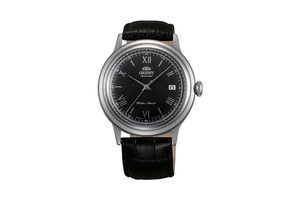 ORIENT: Mechanical Classic Watch, Leather Strap - 40.5mm (AC0000AB)
