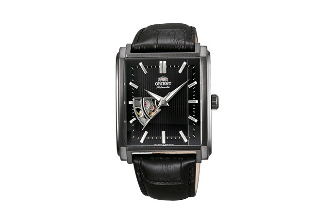 ORIENT: Mechanical Contemporary Watch, Leather Strap - 35.5mm (DBAD001B)