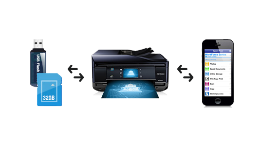 how to print pdf file in epson printer