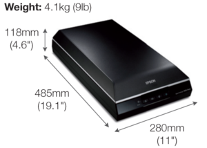 Epson Perfection V600 Flatbed Photo Scanner