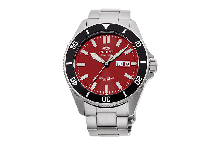 ORIENT: Mechanical Sports Watch, Metal Strap - 43.6mm (RA-AA0915R)