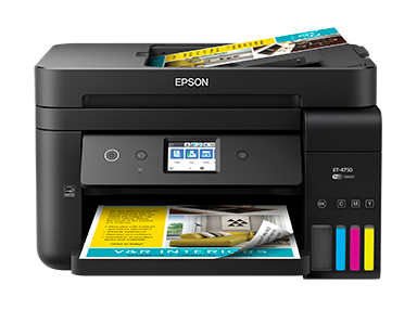 Epson ET-4750 | ET Series | All-In-Ones | Printers | Support