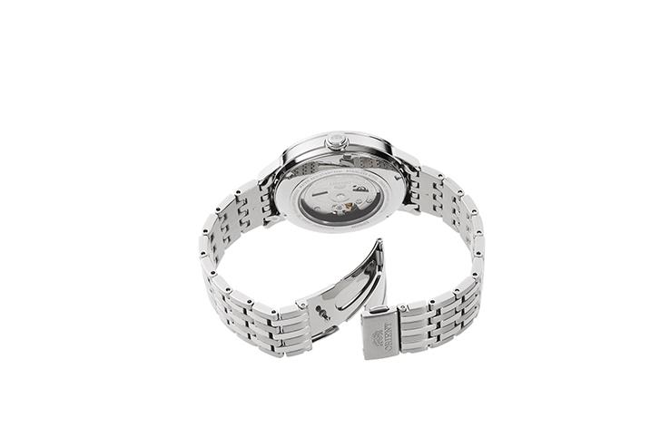 ORIENT: Mechanical Contemporary Watch, Metal Strap - 42.4mm (RA-AC0J04S)