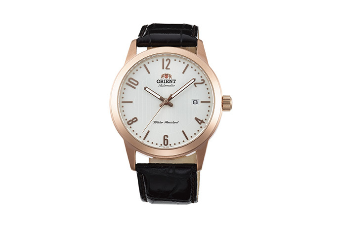 ORIENT: Mechanical Contemporary Watch, Leather Strap - 41.0mm (AC05008W)