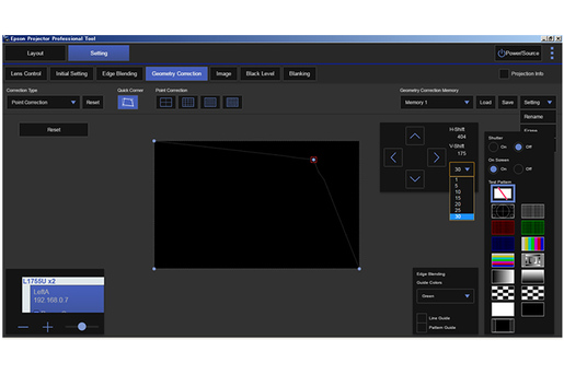 Epson Projector Professional Tool Software