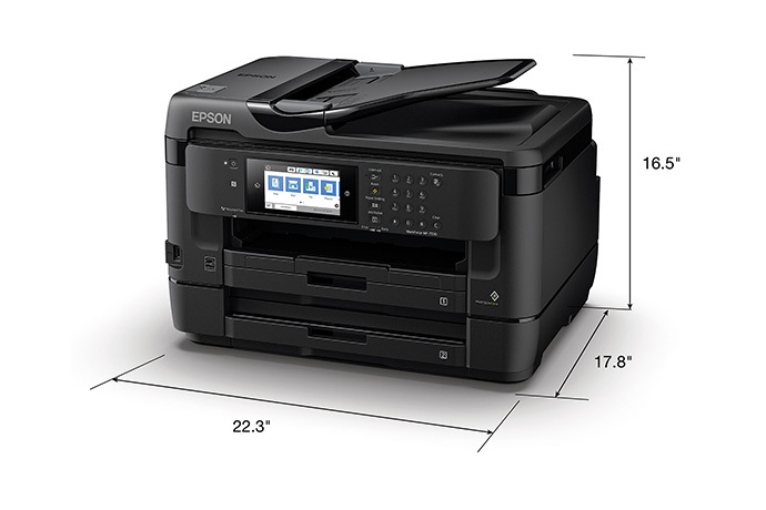 WorkForce WF-7720 Business Edition Wide-format All-in-One Printer