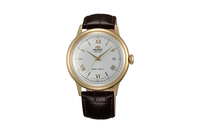 ORIENT: Mechanical Classic Watch, Leather Strap - 40.5mm (AC00007W)