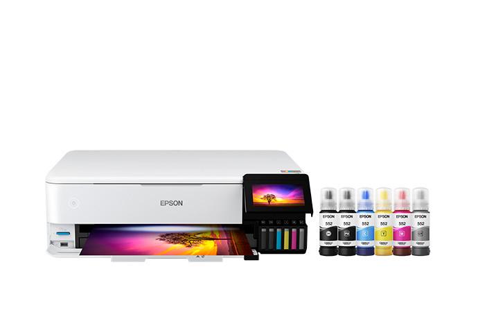 EcoTank Photo ET-8550 All-in-One Wide-format Supertank Printer