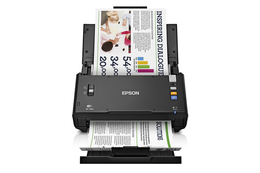 WorkForce DS-560 Wireless Color Document Scanner - Refurbished