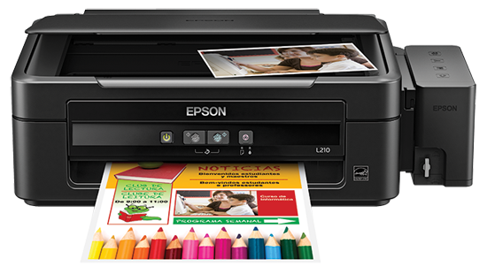 Epson EcoTank L210 All-in-One Printer