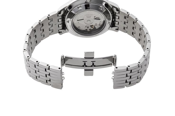 ORIENT: Mechanical Contemporary Watch, Metal Strap - 39.5mm (RA-AA0A02B)
