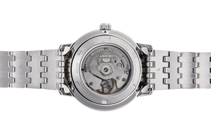 ORIENT: Mechanical Contemporary Watch, Metal Strap - 39.5mm (RA-AA0A03L)